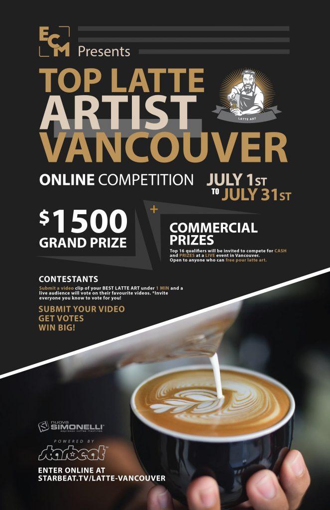 Top Latte Artist Contest